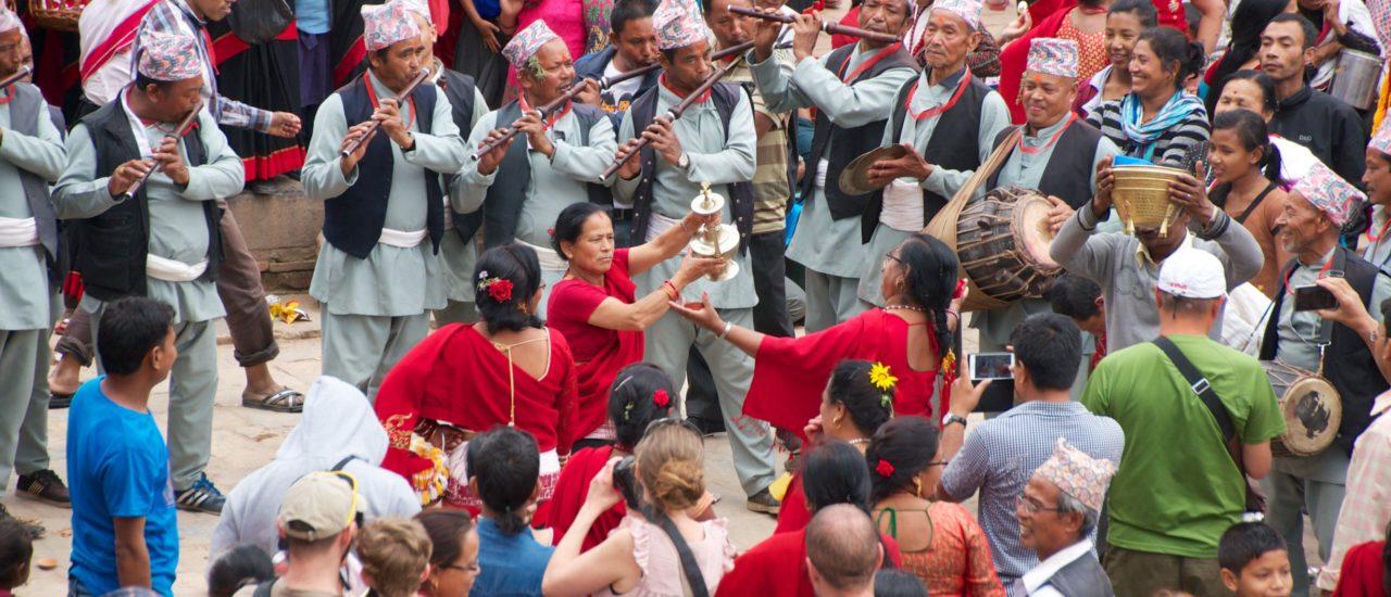 Traditionelle Kunst Nepals